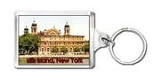 Ellis Island - New York Souvenir Key Chain