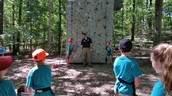 Belay team set for climbers!