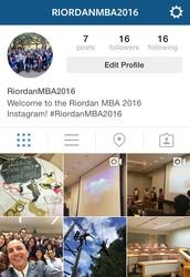 @RiordanMBA2016 Instagram