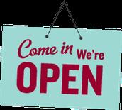 Estamos abiertos todos los días !