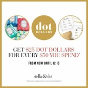 Earn $25 for Every $50 spent!