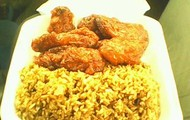 Combination Rice and Kindom Wings