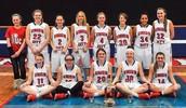 Girls Basketball Holiday Tourney Champions