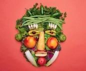 Vahel võib teha ka juur- ja puuviljadest erinevaid kujundeid ja joonistusi!