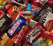me gusta mucho dulces, pero no me gusta nada  los chocolate