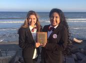HOSA National Qualifiers Samantha Sanchez & Jackie De La Rosa