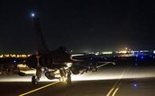French air force pound ISIS for third night running