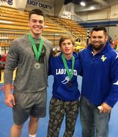 Boys' Powerlifting Regional Results.