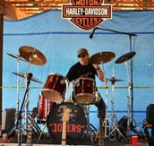 Jerry on drums....