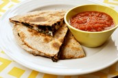 Pizzadillas With Red Sauce