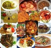 Diversidad de platos