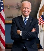 The Vice-President (currently Joe Biden)
