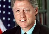 Bill Clinton was the U.S. President when I was born.