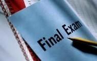 Final Exams!
