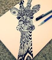 Zen Tangle Giraffe