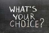 Choice Boards- Give students the chance to choose