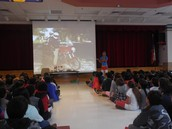 Author presentation @ Shimotsu Elementary