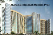 Rustomjee Kandivali Meridian Price Establishes An Emerging Sector In All Over India