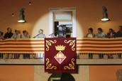 Proclamation of beggining of Festa Major