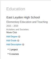 Education at ELHS
