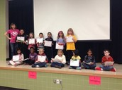 K-2nd grade Reflections Art Contest Participants