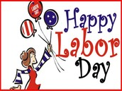Labor Day Holiday - Monday, September 7th