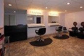 2 Chair Salon in Finished Basement