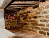 Cellar where slaves were hidden in houses