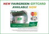 Gift Cards available at Fairgreen Shopping Centre