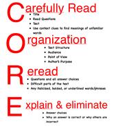 CORE - 8th Grade ELA PLC