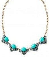 Rory Necklace, Blue