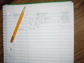 Documentation Notebook