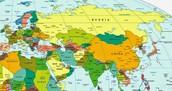 Asia and E. Europe