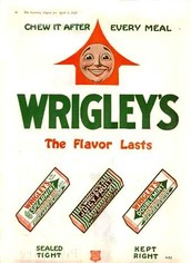 New and Improved Wrigley's Gum