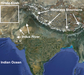 Were is India located?