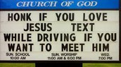 You Should Not Text And Drive.
