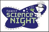 PTA Science Night will be Thursday, January 28, from 6:00-8:00 PM