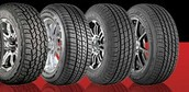 Purchase Set of 4 select Mastercraft Tires get a Visa Prepaid card!