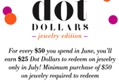 Time to Redeem your Dot Dollars