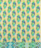 Gorgeous print of the Pastel Ikat scarf