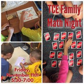 Mark Your Calendar for our TCE Family Math Night