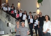Food Tech students visited Pizza Express