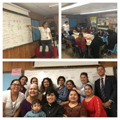 So #AISDproud of our Pillow parents for finishing semester one of ESL classes w/ our PSS, Ms. Balois!