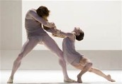 A live ballet performance