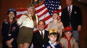 He created the Boy Scout Uniform
