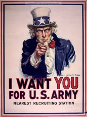 This poster would be classified as Patriotic because, Uncle Sam wants people to join the U.S. army