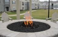 Remote-start fire pit