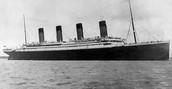 April 10 ,1912 Titanic sets sail
