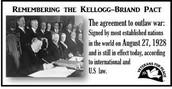 Kellogg Briand Pact