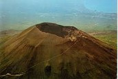 Here is a modern day picture of Vesuvius.
